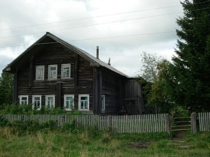 Village Borok, la région d'Arkhanguelsk