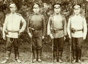 diversité des chemises gymnastiques  de l'Armée Impériale (première guerre mondiale)