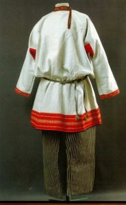 kosovorotka- chemise traditionnelle russe