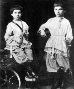 Petr Stolypin avec son frere Alexandre 1867